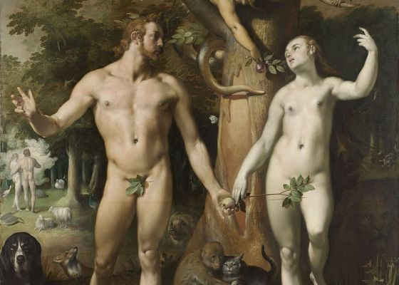 Cornelis van Haarlem: The Fall of Man